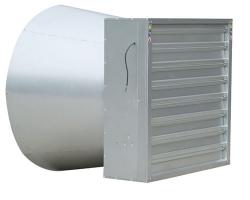 DJF(c)系列百叶窗式拢风筒排风机(摆转重锤打开机构)